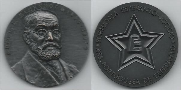 Esperanto Zamenhof medalo